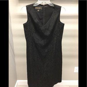 Donna Ricco black A-line dress